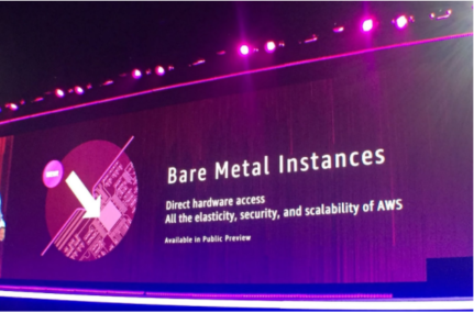 Bare Metal EC2 Instances Released at AWS re:Invent 2017